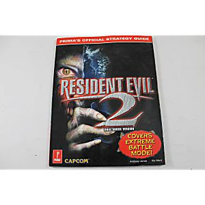 Resident Evil 2 Dualshock Version Official Strategy Guide Prima Games