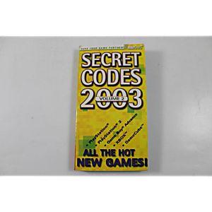 Secret Codes 2003 Volume (Brady Games)