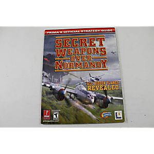 Secret Weapons Over Normandy Official Strategy Guide (Prima Games)