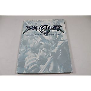 Soul Calibur II Limited Edition Fighters Guide (Brady Games)