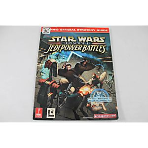 Star Wars Episode 1 Jedi Power Battles Official Strategy Guide (Prima)