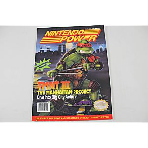 Nintendo Power Volume 33: Tmnt III The Manhattan Project