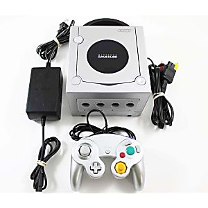 Original Silver Nintendo Gamecube System