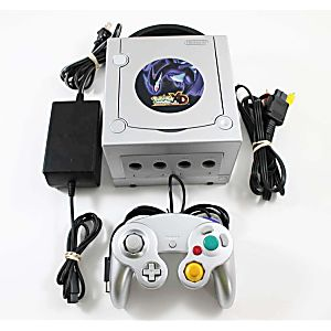 Gamecube System Pokemon Silver Limited Edition - Discounted