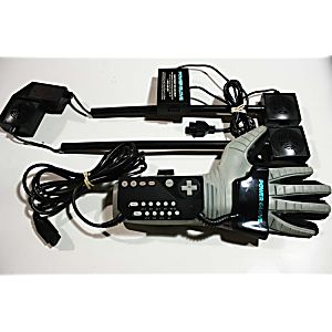 NES Nintendo Power Glove Set