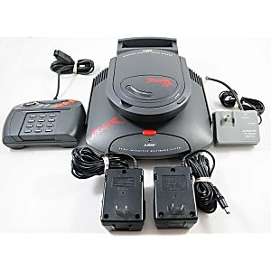 Atari Jaguar System with Jaguar CD Attachment