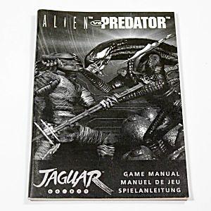Manual - Alien Vs Predator - Atari Jaguar