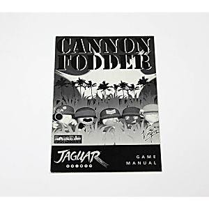 Manual - Cannon Fodder - Atari Jaguar