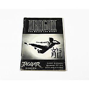 Manual - Dragon Bruce Lee Story - Atari Jaguar