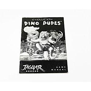 Manual - Evolution Dino Dudes - Atari Jaguar