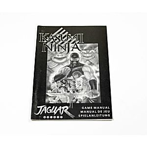 Manual - Kasumi Ninja - Atari Jaguar