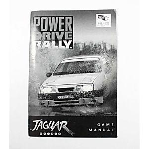 Manual - Power Drive Rally - Atari Jaguar
