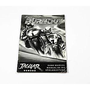 Manual - Super Burnout - Atari Jaguar