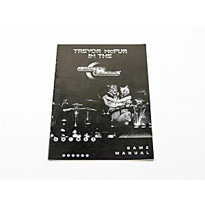 Manual - Trevor McFur - Atari Jaguar