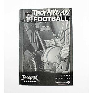 Manual - Troy Aikman Football - Atari Jaguar