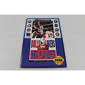 Manual - Bulls Vs Lakers The Nba Playoffs - Sega Genesis