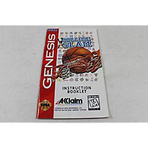 Manual - College Slam - Sega Genesis