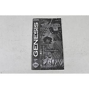 Manual - The Jungle Book - Sega Genesis