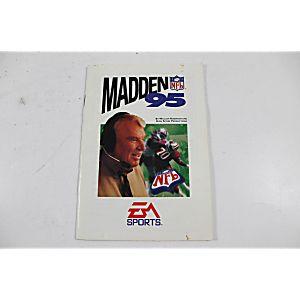 Manual - Madden Nfl '95 - Sega Genesis