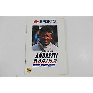 Manual - Mario Andretti Racing - Sega Genesis