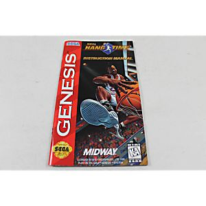 Manual - Nba Hangtime Hang Time - Sega Genesis