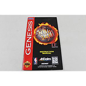 Manual Nba Jam Tournament Edition Sega Genesis
