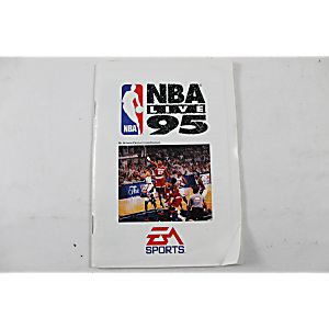 Manual - Nba Live 95 - Sega Genesis