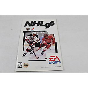Manual - Nhl 96 - Sega Genesis