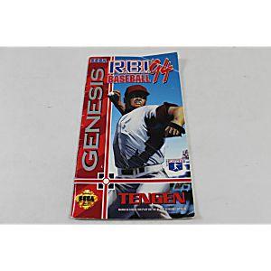 Manual - Rbi Baseball 94 - Sega Genesis