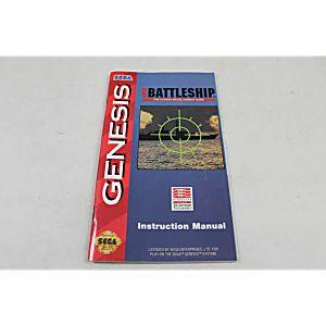 Manual - Super Battleship - Sega Genesis