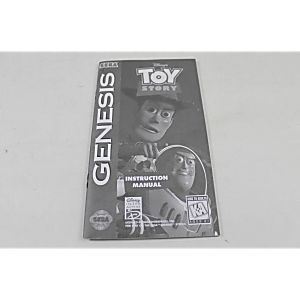 Manual - Toy Story - Sega Genesis