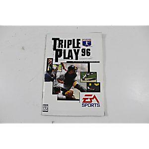 Manual - Triple Play 96 - Sega Genesis