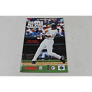 Manual - All-Star Baseball 99 - Nintendo N64