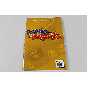 Manual - Banjo-Kazooie - Nintendo N64