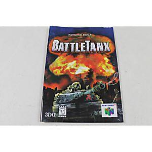Manual - Battletanx - Nintendo N64