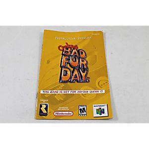 Manual - Conker's Bad Fur Day - Nintendo N64