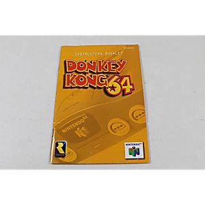 Manual - Donkey Kong 64 - Nintendo N64