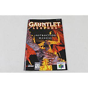 Manual - Gauntlet Legends - Rare Nintendo N64