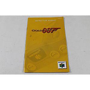 Manual - Goldeneye 007 - Nintendo N64