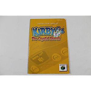 Manual - Kirby 64 The Crystal Shards - Nintendo N64