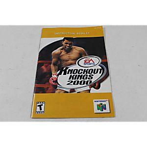Manual - Knockout Kings 2000 - Nintendo N64