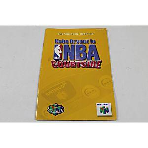 Manual - Kobe Bryant In Nba Courtside - Nintendo N64