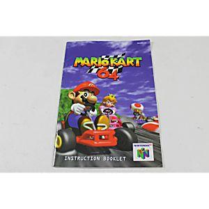 Manual - Mario Kart 64 - Rare Nintendo N64