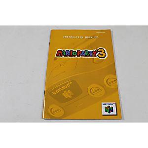 Manual - Mario Party 3 - Rare Fun Nintendo N64