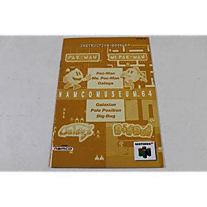 Manual - Namco Museum 64 - Nintendo N64