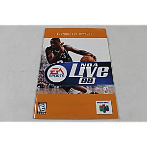 Manual - Nba Live 99 - Nintendo N64
