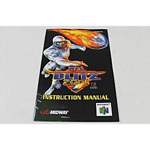 Manual - Nfl Blitz 2001 - Nintendo N64