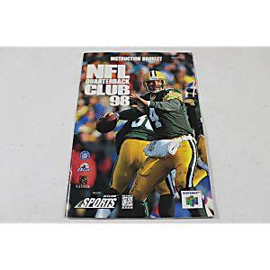 Manual - Nfl Quarterback Club 98 - Nintendo N64
