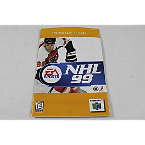 Manual - Nhl 99 - Nintendo N64 Hockey