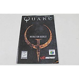 Manual - Quake - Nintendo N64